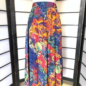 Karen Kane Maxi Skirt Elastic Waist Size 10